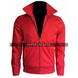 James Dean Rebel Without a Cause Jim Stark Red Cotton Jacket