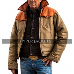 Yellowstone Kevin Costner Jacket John Dutton Vest Cotton Outfit