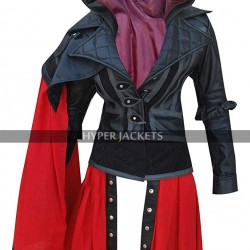Assassin's Creed Syndicate Evie Frye Costume Leather Coat