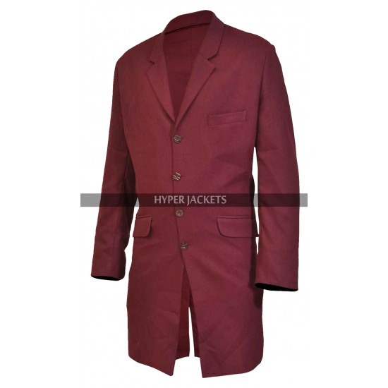 Thor Avengers Age Of Ultron Chris Hemsworth Red Leather Coat