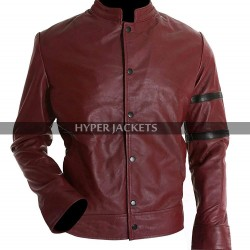 Vin Diesel Fast and Furious 6 Dominic Toretto Maroon Leather Jacket