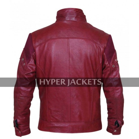 Peter Quill Guardians Of Galaxy Vol 2 Starlord Costume Leather Jacket