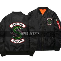 Riverdale Southside Serpents MA-1 Flight Bomber Jacket