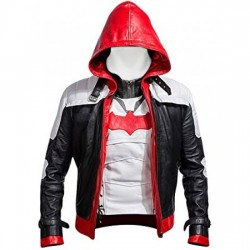 Gaming Arkham Knight Red Hood Batman Jacket With Vest