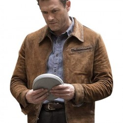 The Man in the High Castle Jason O'mara Suede Leather Jacket