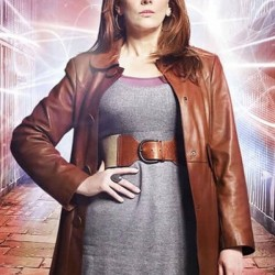 Doctor Who Brown Leather Coat Donna Noble