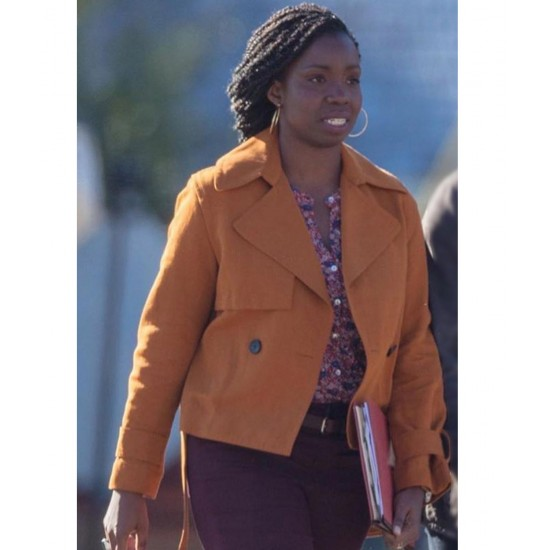 Adepero Oduye Cotton Jacket In The Falcon and the Winter Soldier (2021)